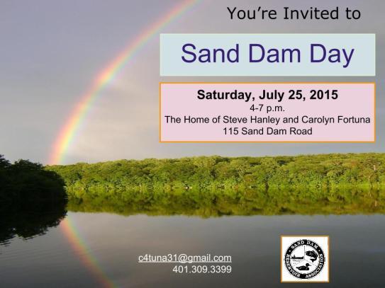 Sand Dam Day 2015