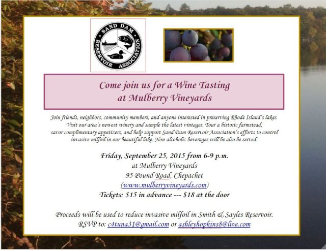 Mulberrry Vineyards Flyer SDRA